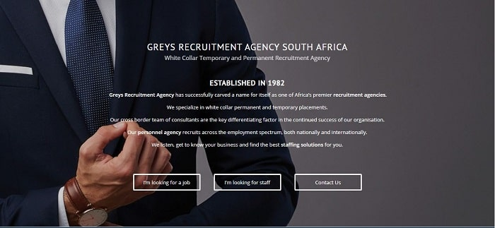 List Of Recruitment Agencies In Johannesburg - Greys Recruitment Agency