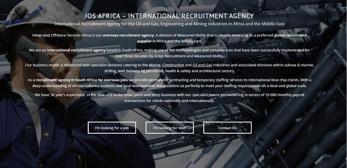 List Of Recruitment Agencies In Johannesburg - IOS Africa
