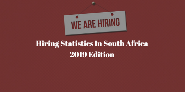 Employment Statistics in South Africa 2021