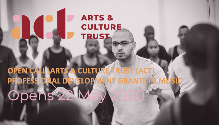 Open Call/Arts & Culture Trust (ACT) Professional Development Grants in Music