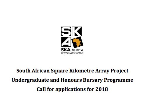 National Certificate Engineering Bursary Programme For South Africans – South Africa, 2017