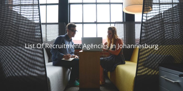 List Of Recruitment Agencies In Johannesburg 2020