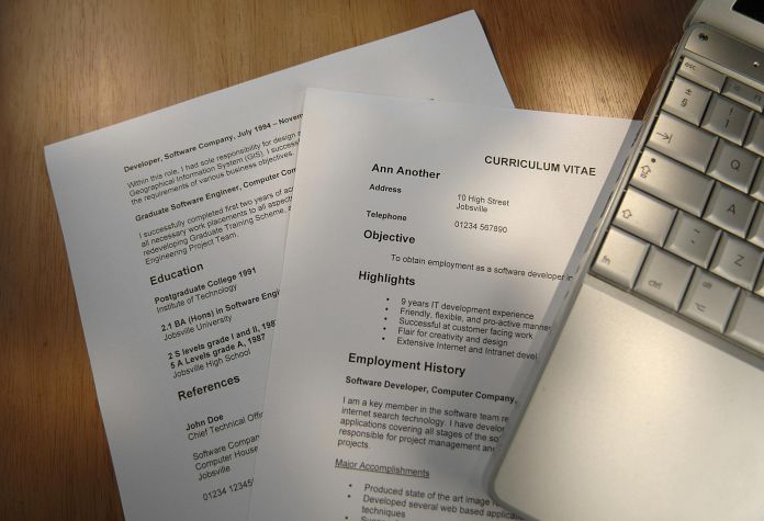 Cv Templates For All Job Fields In South Africa 2020 Myjobmag
