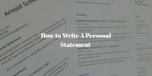 How To Write A Personal Statement: The Complete Guide