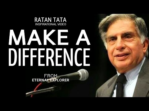 Make a Difference ft.Ratan Tata